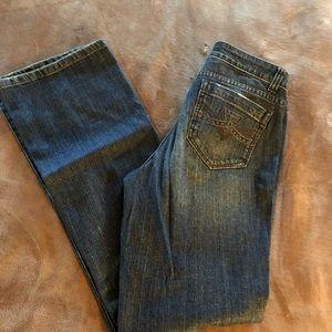 DKNY- Barely worn blue jeans size 10